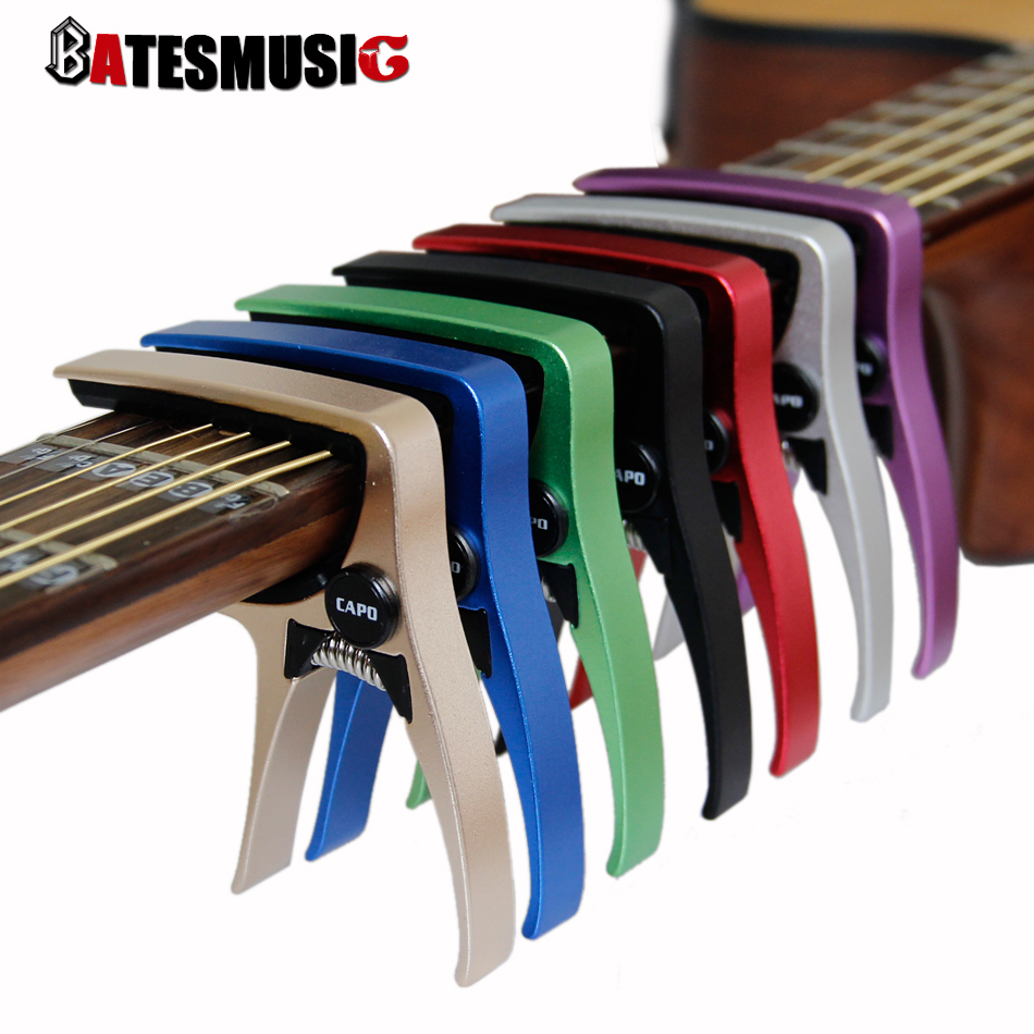 guitar capo for acoustic and electric guitars total aluminium material guitar accessories in. Black Bedroom Furniture Sets. Home Design Ideas