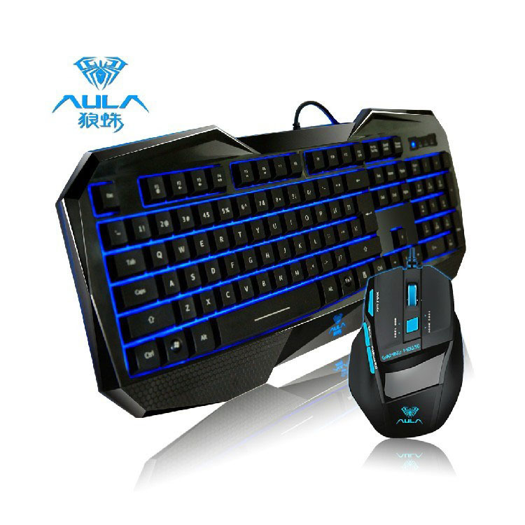 usb wired gaming keyboard and mouse combo game keyboard mouse kit for desktop laptop in. Black Bedroom Furniture Sets. Home Design Ideas