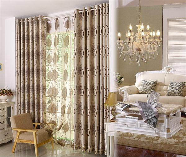 yilian home decor turque rideaux rideaux de salon. Black Bedroom Furniture Sets. Home Design Ideas