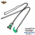 Set of 2 pcs Thresh Toys Necklace Weapon Couples Necklaces Pendant