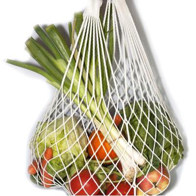1pc Fruits Amp Vegetables Shopping String Bag Cotton Net