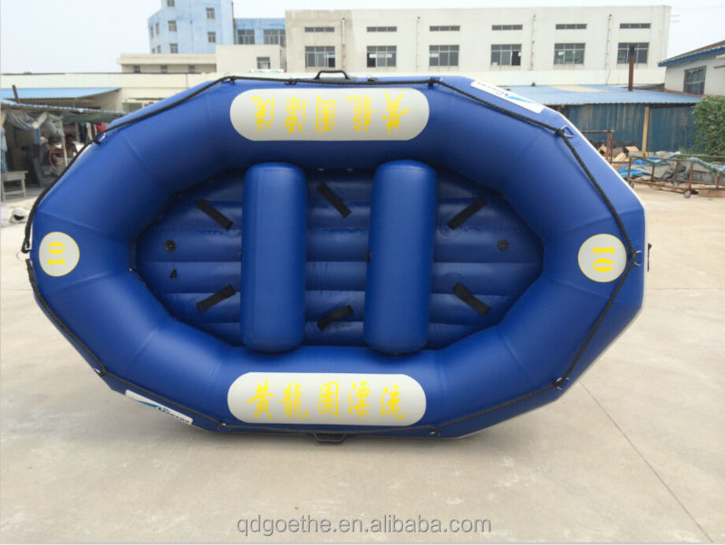 A Yellow Raft In Blue Water Quotes: Gtp290 Goethe Royalblue White Water Raft