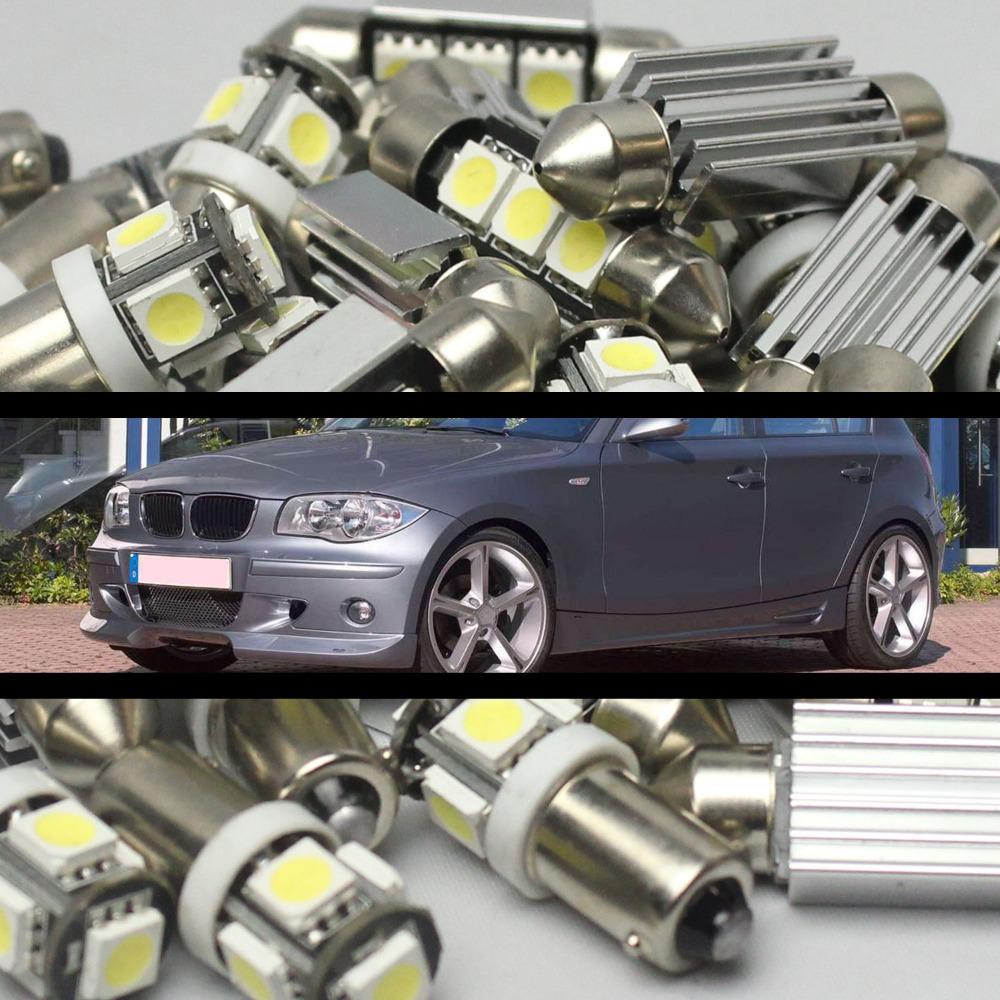 73 ошибка 11 шт. из светодиодов внутреннее освещение услуг для BMW 1 серии E87 / E82