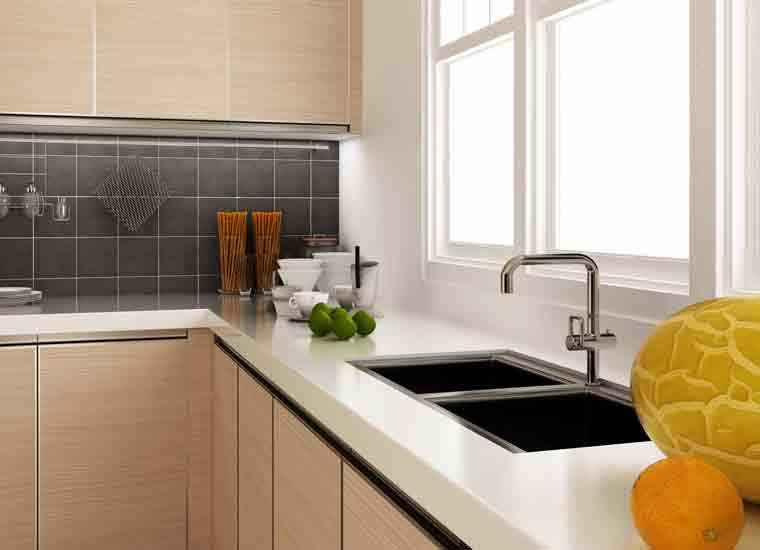 Tanzania Project L-shaped Kitchen Cabinets Factory Made In China Home Furniture Living Room Sets