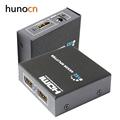 Hunocn HDMI Splitter 1X2 Full HD 3D Video 1X2 Split 1 in 2 Out Amplifier Dual