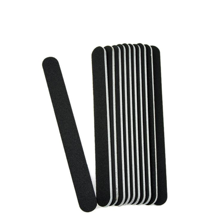 Wholesale High Quality Fashion Nail Tools 10PCS Nail Files Double Sided Thin Buffer Polish Pedicure Block