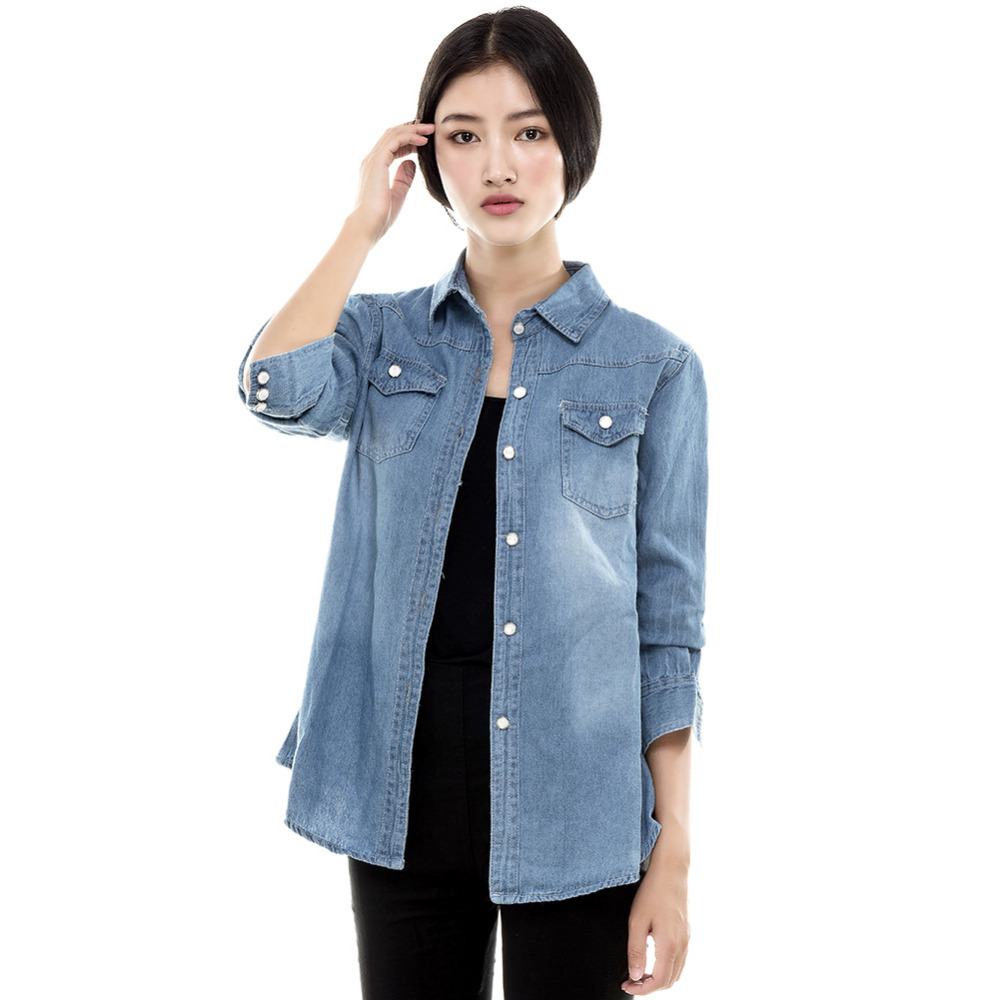 Long Sleeve Western Style Denim Shirt with Pearl Snap Front Closures Key Apparel Men's Big & Tall Long Sleeve Western Snap Denim Shirt. by Key Apparel. $ - $ $ 27 $ 37 99 Prime. FREE Shipping on eligible orders. Some sizes/colors are Prime eligible. out of 5 stars