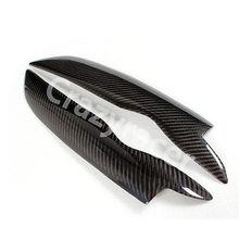 Headlight Cover Eyelid Eyebrow For VW Golf MK5 05-07 Carbon Fiber