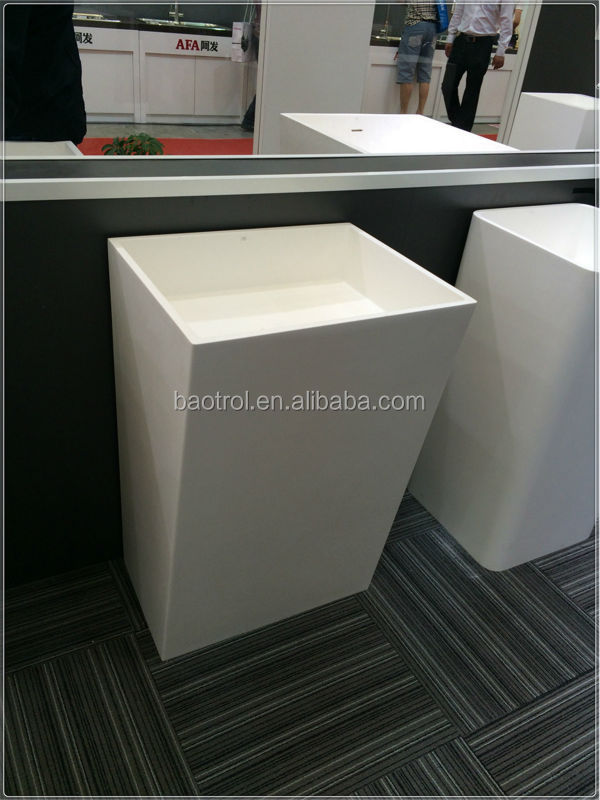 Good Price Free Standing Bathroom Sink Stand Alone Sinks