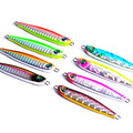 1PC 33g 7 5cm Multi Color Metal Fishing Lures Jig Paillette Pesca Wobbler Lure Artificial Hard