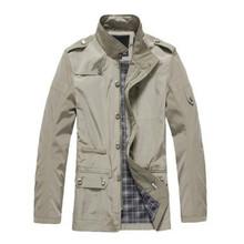 Moderní pánský kabát/bunda z Aliexpress