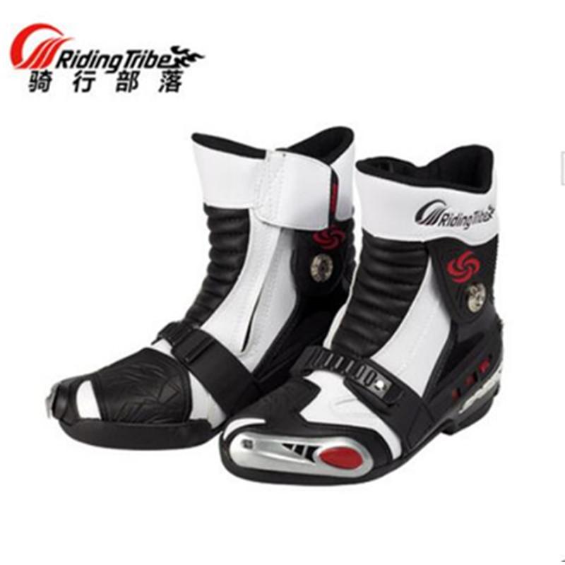Pro-biker мотоцикл дорожно-спортивные велоспорт сапоги-мужчин долго сапогах мото-обувь