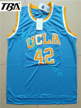 e8f1eb6f11a2 ... NEW New Kevin Love 42 UCLA Bruins Basketball Jersey Camisa Embroidery  Logos Stitched Movie Basketball Jerseys ...