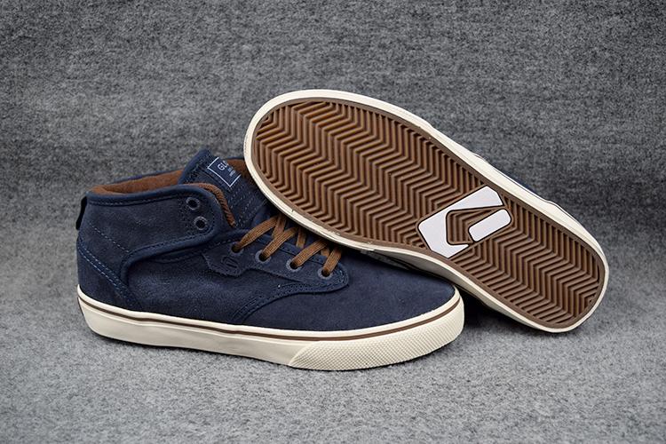 Size 6 11 GLOBE MOTLEY MID Style Footwear Dark Blue Anti Fur Hard Wearing Street Shoes