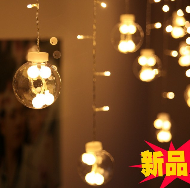 Window Decoration Indoor Decorative Light Dazzle Colour Flash 3m 0 6m120 Header Of Europe Type Style Led Lights Series String