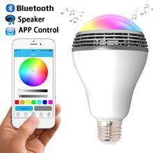 New Arrival E27 MiP PLAYBULB X Bluetooth 4.0 Wireless Smart LED Bulb Audio Speaker Light Lamp For iPhone Android 110V – 220V