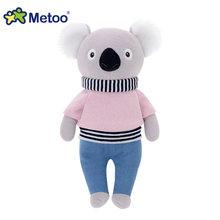 Мягкие плюшевые игрушки с рисунком медведя панды, 32 см, детские игрушки для девочек, подарок на день рождения, Рождество, кукла Metoo(Китай)