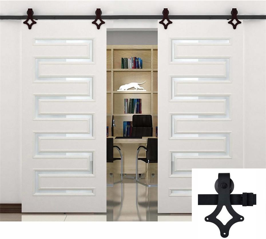 Exterior: 2.3m 4.6m High Quality Exterior Barn Sliding Door Hardware