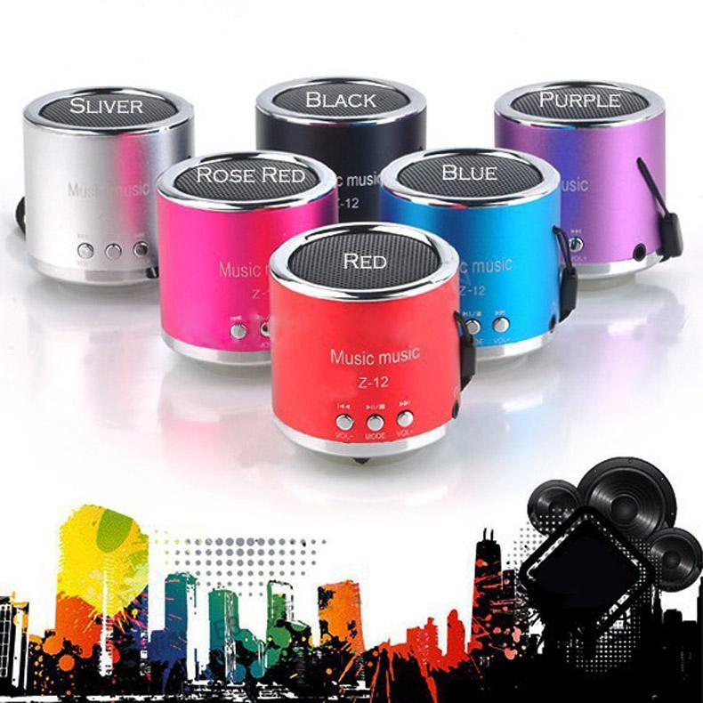 Handfree Wireless Portable Mini Speaker Subwoofer FM Radio USB Micro SD TF Card MP3 Player