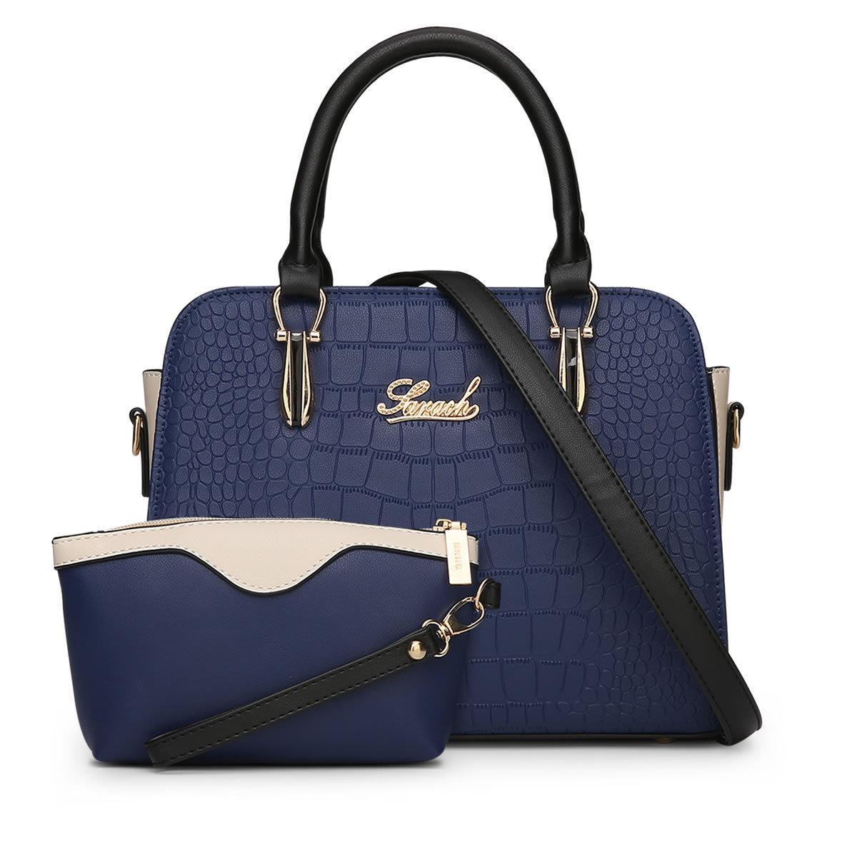 2 bag New Fashion American Women Messenger Bags Alligator Pattern women bag  high quality purses and handbags dollar price Q5