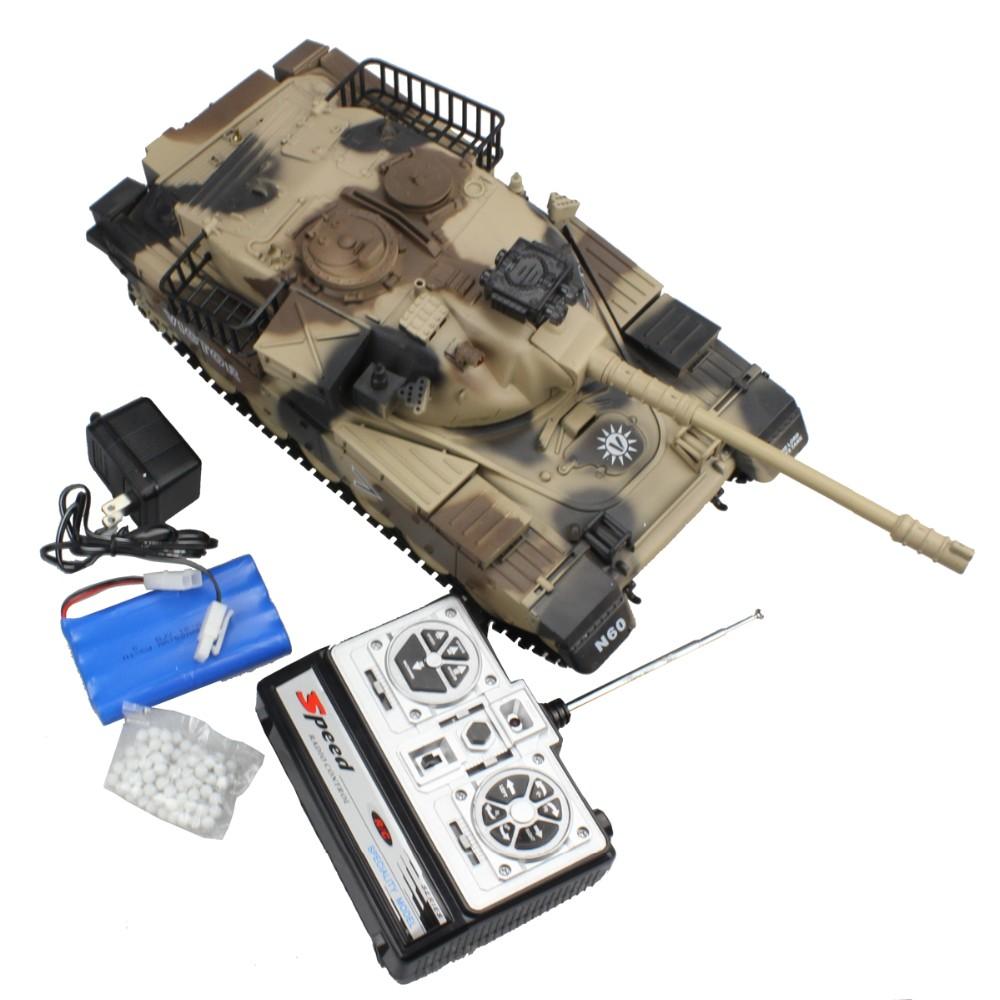 RC Tank USA M60 15 Channel 1/16 Patton Main Battle Tank Model With