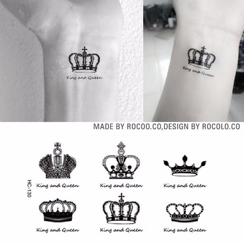 Wholesale Super Creative Waist Leg Makeup Queen King Crown Diamond