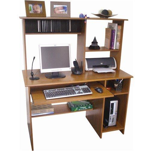 Scrivania del computer con porta cd pronto da montare for Mondo convenienza scrivanie porta pc