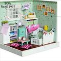 Diy Doll house Creative Model Building Kits 3D handmade Wooden Dollhouse Miniature Toy Christmas Gift The