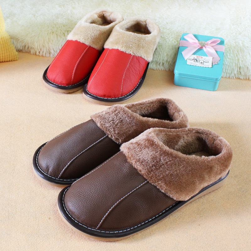 Popular Womens Leather Bedroom Slippers-Buy Cheap Womens