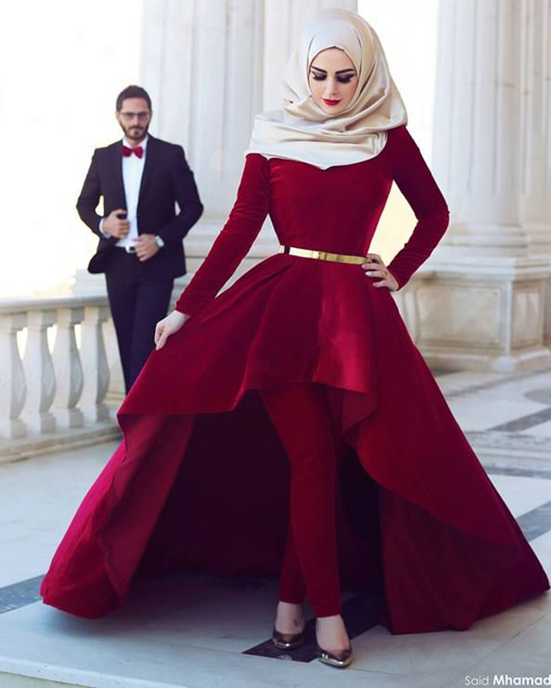 20 Of The Most Stunning Long Sleeve Wedding Dresses Chic: Robes élégantes France: Les Robes Hijab 2016