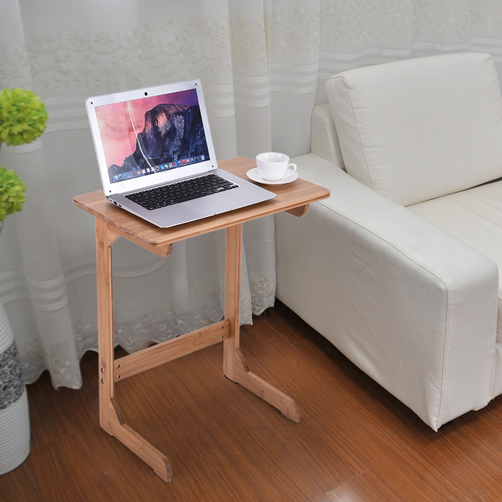 Miraculous Computer Desk Bamboo Snack Table Sofa Couch Coffee End Table Bed Side Table Laptop Desk Standing Desk Laptop Stand Dropshipping Short Links Chair Design For Home Short Linksinfo