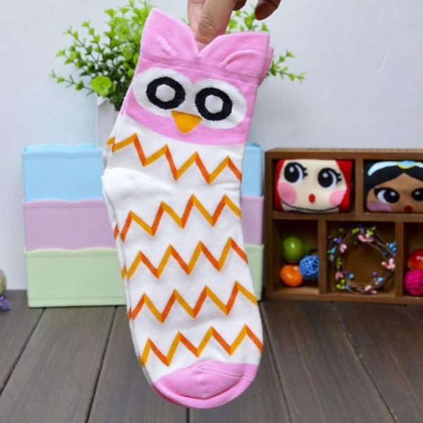 2015 мода носки женщины прекрасные животное бизнес хлопок женщина виды спорта марка женский носок весна осень 5 пар/лот