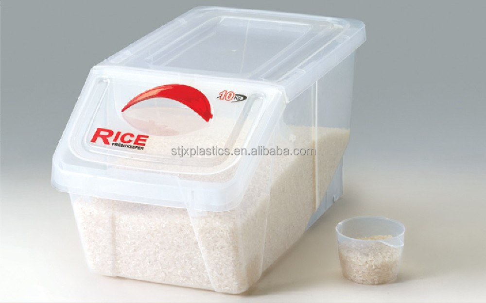 Plastic Food Grade Clear Container With Flip Lid Buy