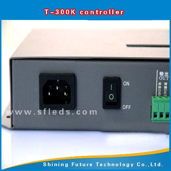 49364fb68e1 ... T300K SD Card controller online VIA PC RGB Full color led pixel module controller  8 ports ...