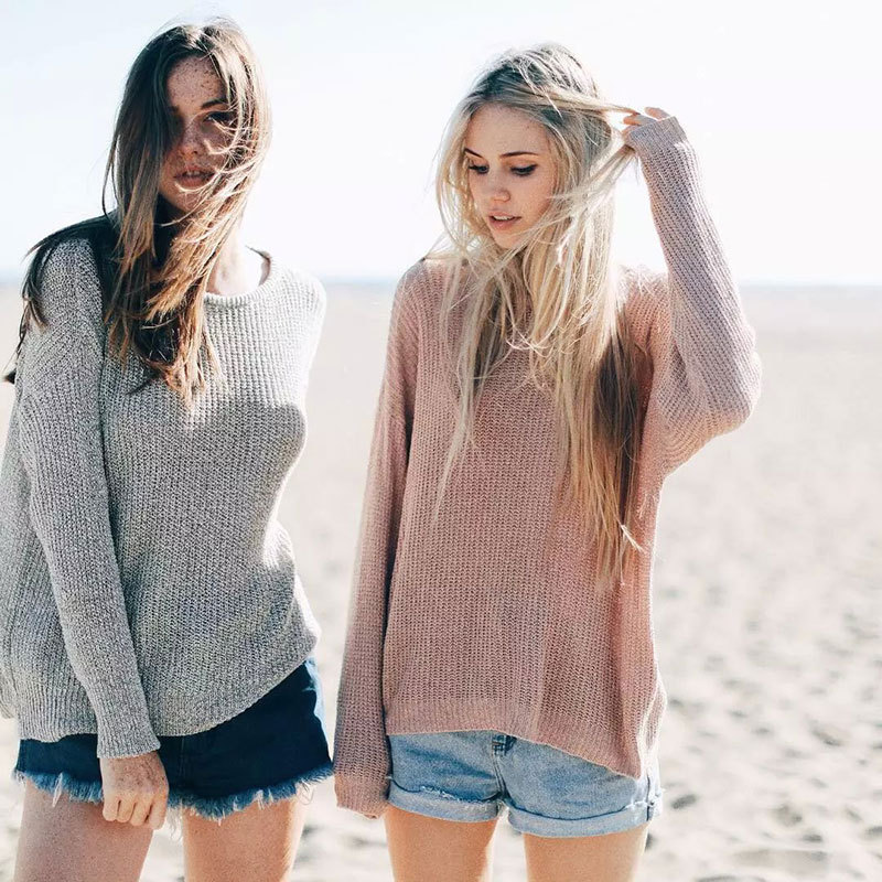 Oversized Pullover Sweaters For Women Baggage Clothing