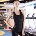 2016 New brand Running Girl Sports Vest Summer Women Tank Tops Fitness Sport Sleeveless Vest Dry