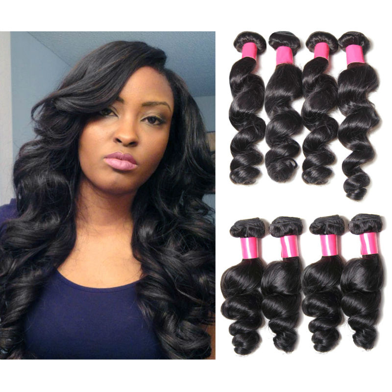 Milky Way 100 Human Hair Indian Remy Loose Deep Weave 38