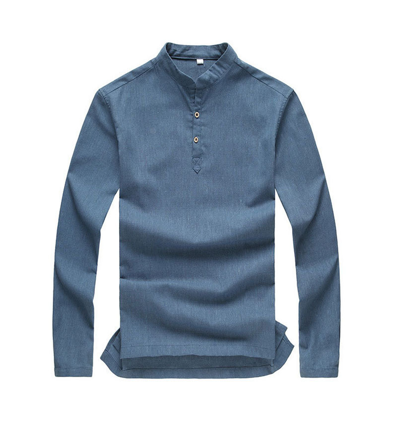 These fashionable long sleeve shirts for men are designed to look amazing, fit great and feel soft and comfortable. Browse a large variety of long sleeve t-shirts for men that includes crew neck, collared, hooded and henley creations in beautiful solid colors and eye-catching patterns.