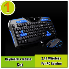 Hot Sale Wireless Mouse and Keyboard Combo Game For pc Laptop,High Sensitivity Wireless Gaming Mouse and Keyboard Set