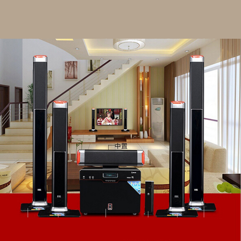 Living Room Theater Fau Phone Number: Wireless 5.1 Surround Home Theater Speakers Sound Card