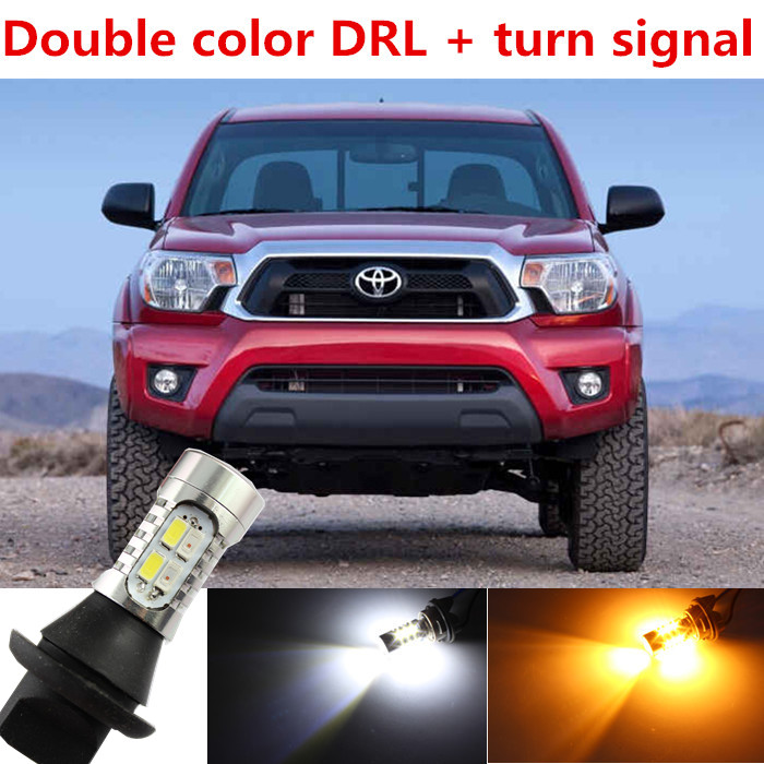 For Toyota Tacoma Accessories LED DRL Daytime Running