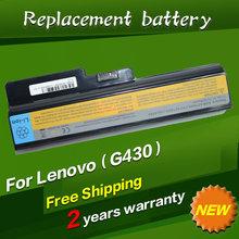 9 cells Laptop Battery For Lenovo 3000 G430 G450 G530 G550 IdeaPad V460 G430 Z360 G430 4152 G430L