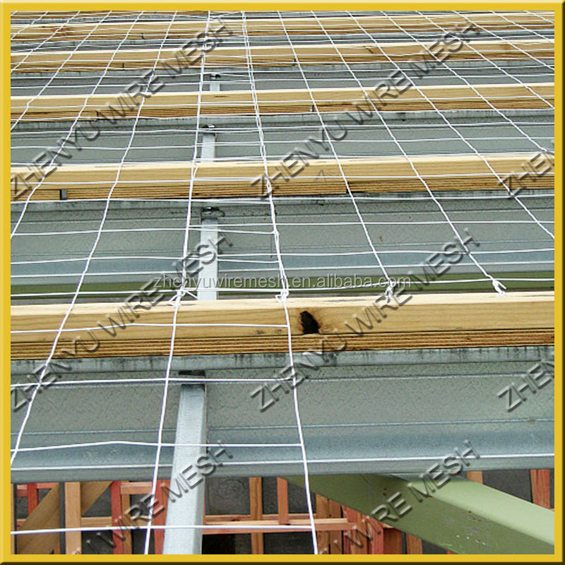 3x3 Brc 3315 Hot Galvanized Welded Roof Safe Mesh Safety