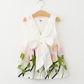 Summer Dresses 2016 Girls Dress Girl Clothes Vestidos Children Dress Sleeveless Princess Dresses for Girls