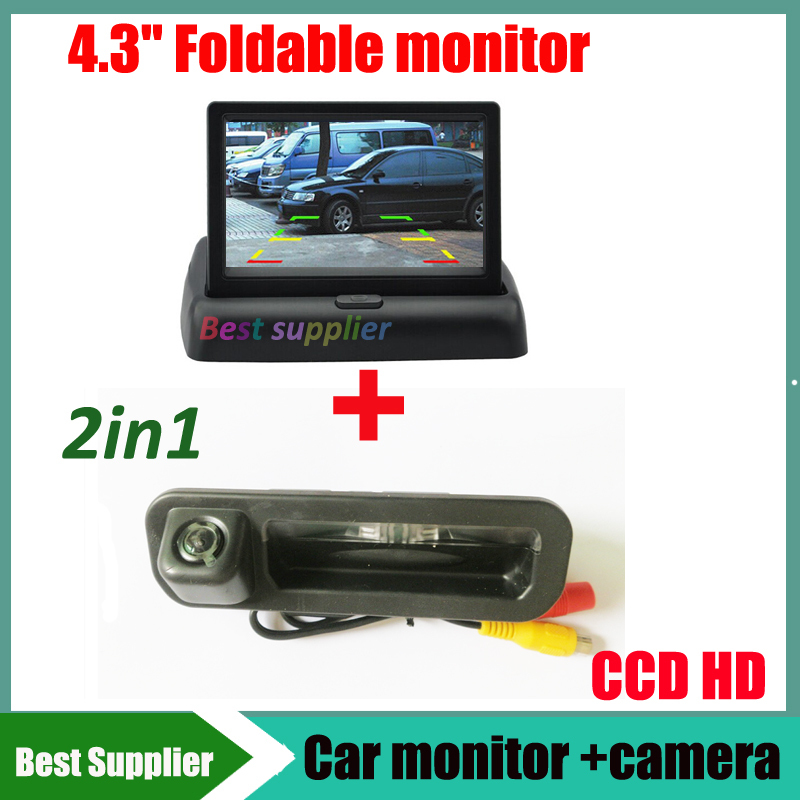 buy 4 3 car monitor mirror and car rear view backup camera for ford focus 2012. Black Bedroom Furniture Sets. Home Design Ideas