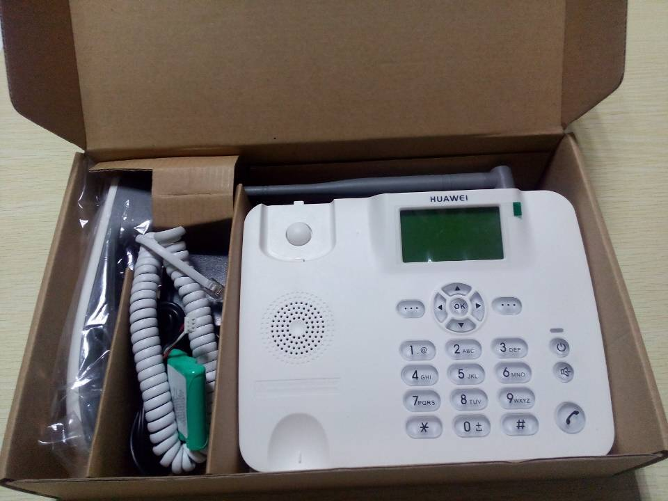 landline phone with sim card slot