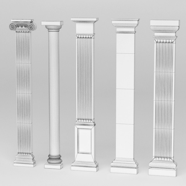 Difference Type Of Doric Pillar Ionic Pillar Pilaster