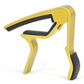 1pcs Golden Single handed Quick Change Trigger Classic Acoustic Guitar Capo Guitarra