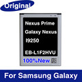EB L1F2HVU Original Mobile Phone Battery Rechargeable 1750mAh For Samsung Nexus Prime Galaxy Nexus I9250 Free