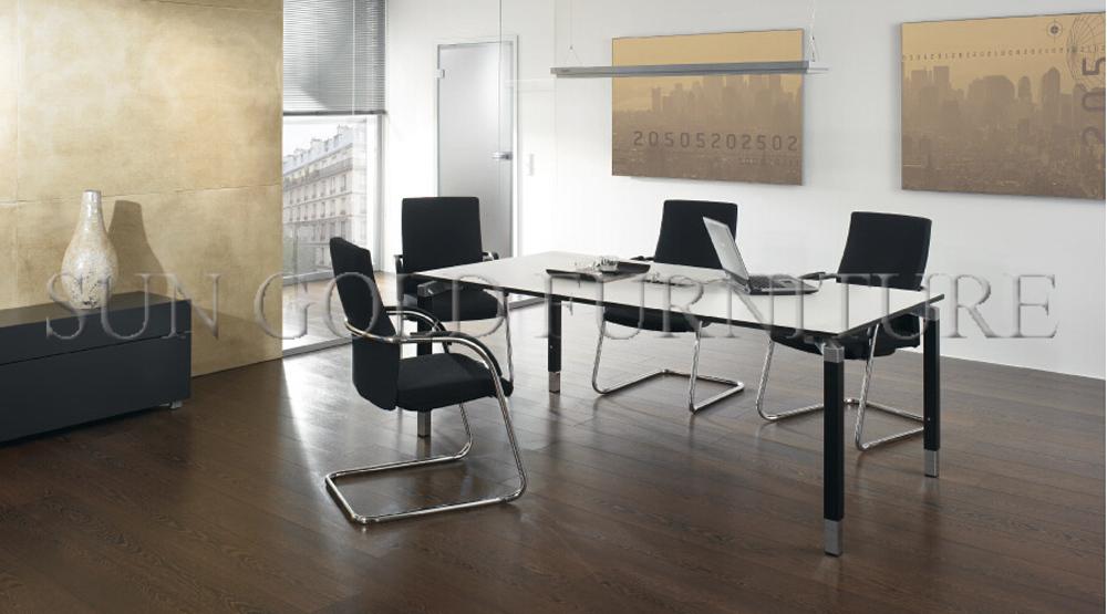 de luxe grande salle de r union conf rence table blanc nouveau design sz mt120 table en bois. Black Bedroom Furniture Sets. Home Design Ideas